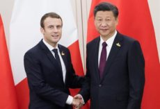 Xi and Macron declare support for a climate agreement in spite of Trump withdrawal