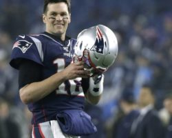 Tom Brady intends to play in next year's Super Bowl, won't state for which team
